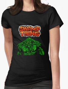 Swamp Thing Womens Fitted T-Shirt
