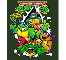 Retro Teenage Mutant Ninja Turtles Photographic Print