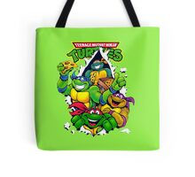 Retro Teenage Mutant Ninja Turtles Tote Bag