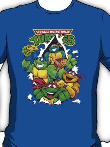Retro Teenage Mutant Ninja Turtles T-Shirt