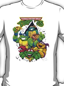 Retro Teenage Mutant Ninja Turtles T-Shirt