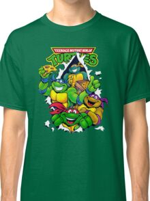 Retro Teenage Mutant Ninja Turtles Classic T-Shirt