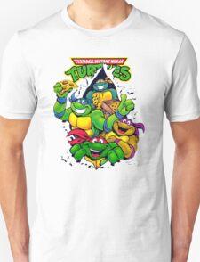 Retro Teenage Mutant Ninja Turtles Unisex T-Shirt