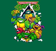 Retro Teenage Mutant Ninja Turtles Unisex T-Shirt