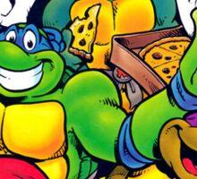 Retro Teenage Mutant Ninja Turtles Sticker