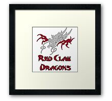 Red Claw Dragons  Framed Print