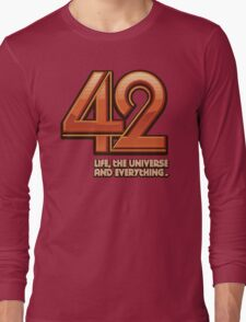Forty-Two Long Sleeve T-Shirt