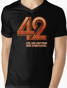 Forty-Two Mens V-Neck T-Shirt