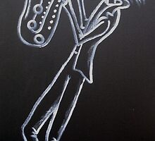 LAID BACK SAX by RoseLangford