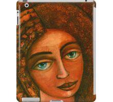 Flora, Goddess of the Seeds closer  iPad Case/Skin
