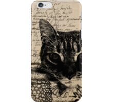 Poetry Kitty iPhone Case/Skin