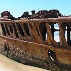 Maheno Shipwreck by Fiona Allan Photography