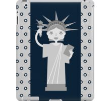 Liberty Statue is smiling iPad Case/Skin