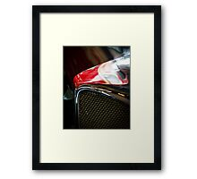 Chrome Grille Framed Print
