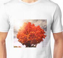 Orange Leaves Unisex T-Shirt