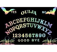 Pastel Rainbow Ouija Photographic Print