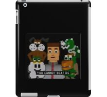 YOU CANNOT BEAT US iPad Case/Skin
