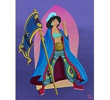Princesses of Wrestling: Jasmine the Iron Sheikha Photographic Print