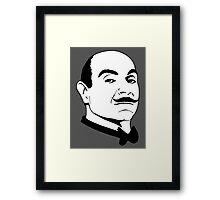 Hercules Poirot. Framed Print