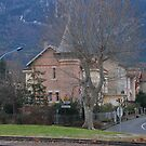 House at Quillan by Peter Reid
