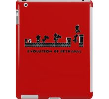 Evolution of Betrayal iPad Case/Skin