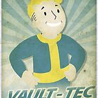 Vault Boy Vintage Poster by AlisterCat