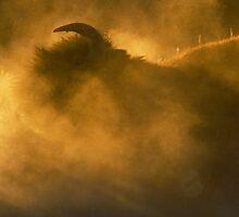 Thunder Beast Makes Fire by William C. Gladish, World Design