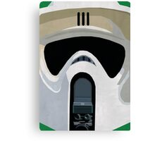 Scout Trooper Star Wars Print  Canvas Print