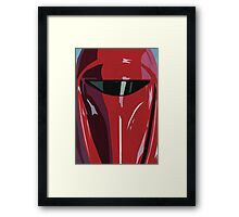 Red Imperial Guard Star Wars Print  Framed Print