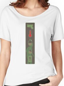 Zombie Status Icons Women's Relaxed Fit T-Shirt