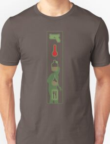 Zombie Status Icons Unisex T-Shirt