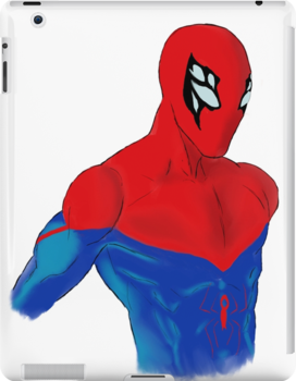 Spider-Man Alternative Suit Design Bust (White) by strkr241