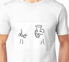 hornist tuba brass player Unisex T-Shirt