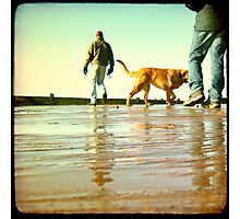 Exmouth Beach Part 1 Photographic Print