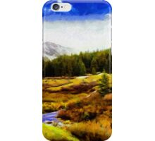 The great north iPhone Case/Skin