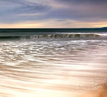 High Tide - East Beach by Jim Robertson