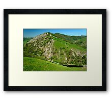 Bunster Hill from Thorpe Cloud  Framed Print