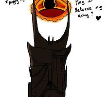 Sauron - May I retrieve my ring ? by dukett