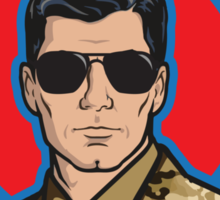 You Better Call Kenny Loggins - Military Uniform Version Sticker