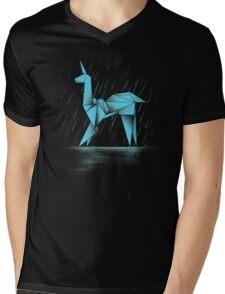 HUMAN OR REPLICANT Mens V-Neck T-Shirt