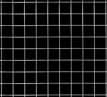 Black Grid by weirdoodle