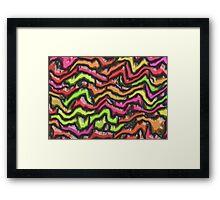 Earthquake Framed Print