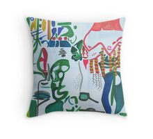 Vintage Interior #1 Throw Pillow