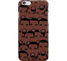 Kanye West Faces  iPhone Case/Skin