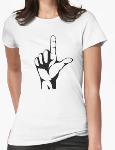 Fairy Tail - Hand_Symbol Womens Fitted T-Shirt