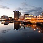 Belfast Waterfront by Alan McMorris
