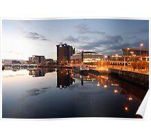 Belfast Waterfront Poster