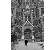 Going to church Photographic Print