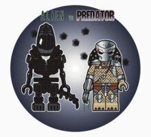 Alien vs Predator - Character, Brick Minifigure by BRANDYCANDY