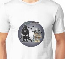 Alien vs Predator - Character, Brick Minifigure Unisex T-Shirt